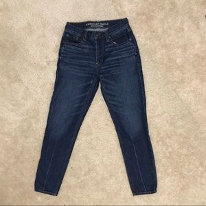 Hi-Rise Vintage Blue Jeans